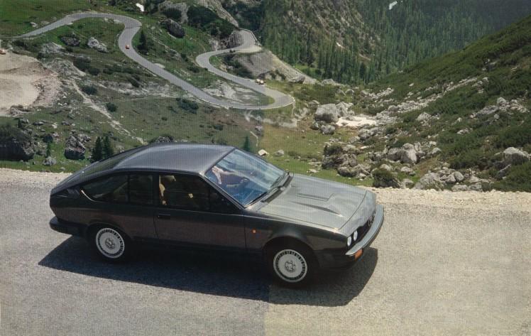 Alfa GTV6 Reklame 1981