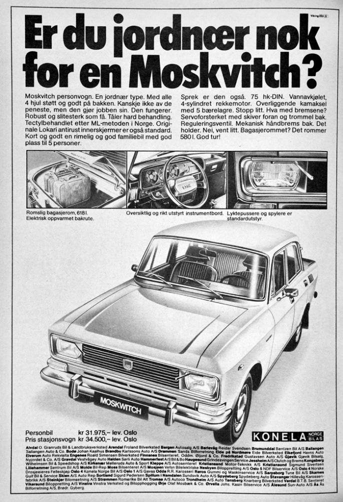 Moskvitch 408 Reklame Norge_1