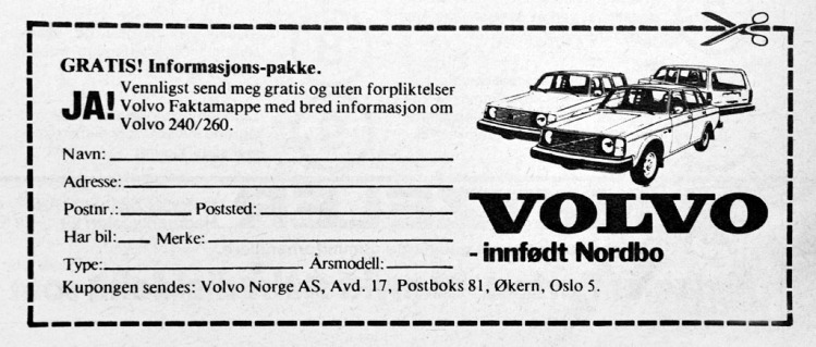 Volvo 240 Reklame Norge_7