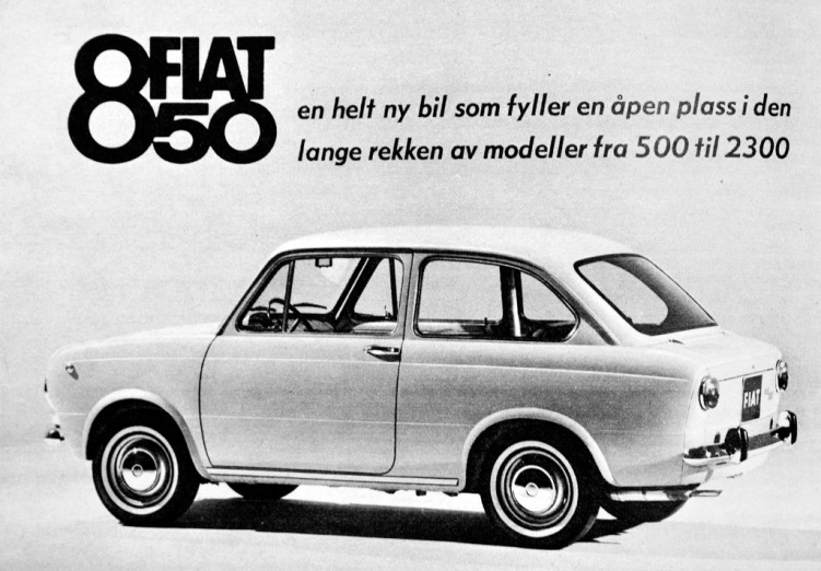 Fiat 850 Reklame Norge_1