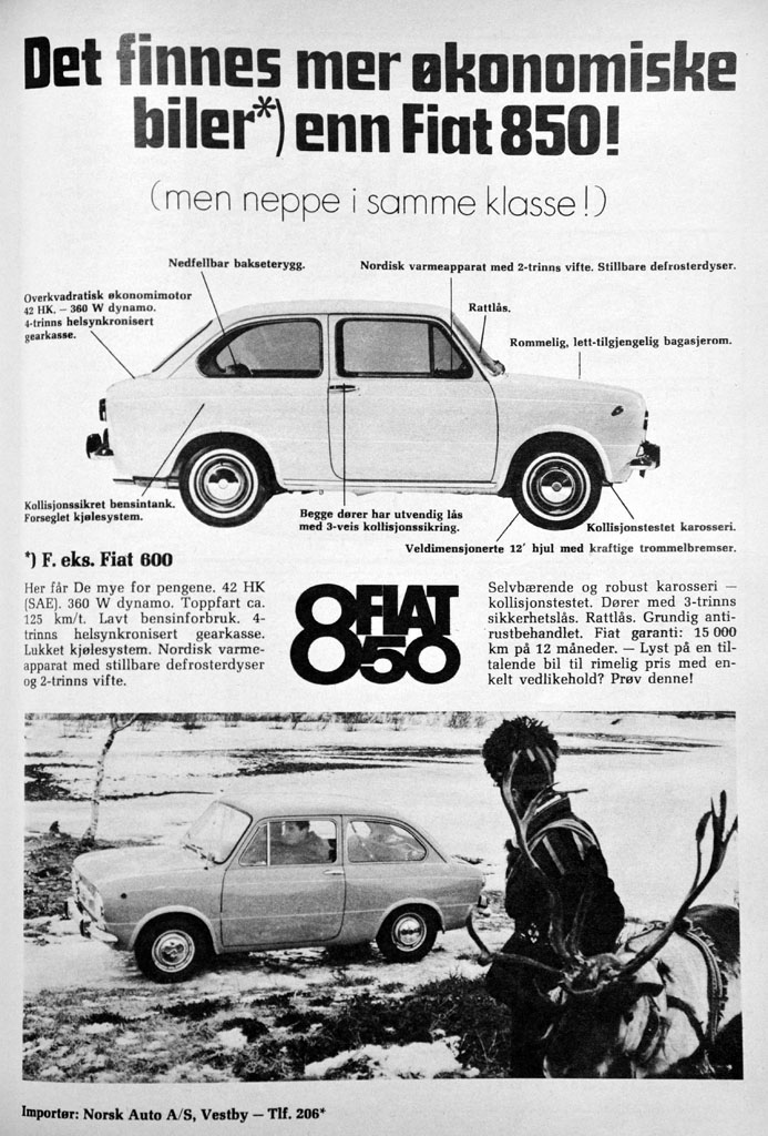 Fiat 850 Reklame Norge_2