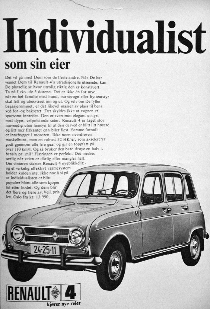 Renault 4 Reklame_Norge_1