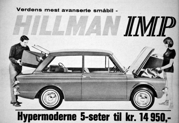 Hillman Imp Reklame Norge_3