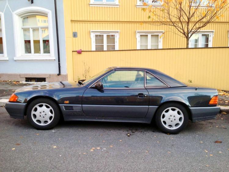 Mercedes SL500 W129 Kampen_1