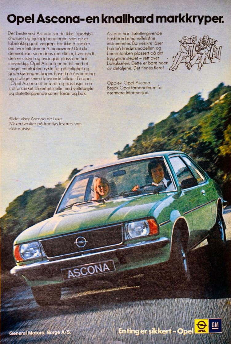 Opel Ascona B Norge_1