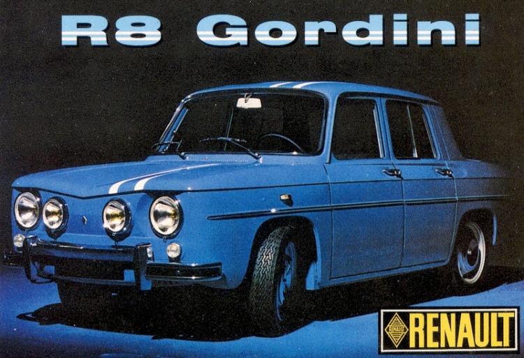 Renault 8 Gordini Reklame_1