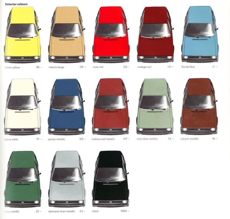 Volkswagen Golf MK1 Brosjyre_1