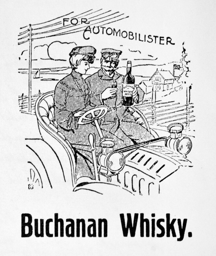 Whisky for bilister