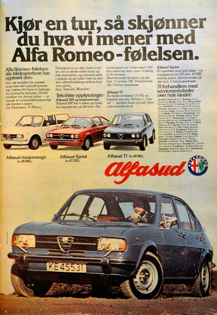 Alfasud Reklame Norge_1