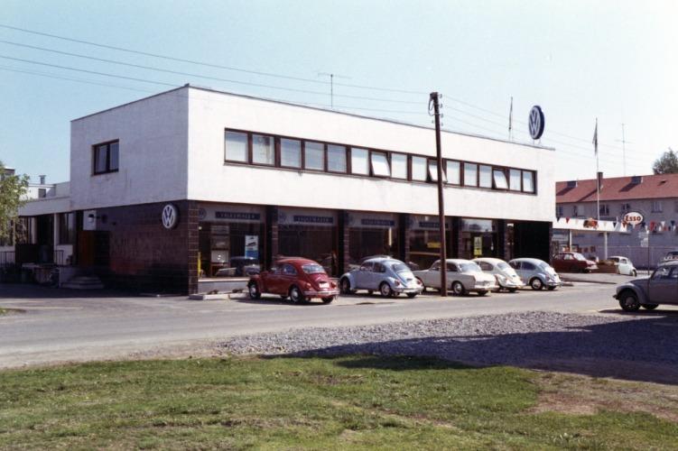 AS Bilservice Lillestrøm ca 1965
