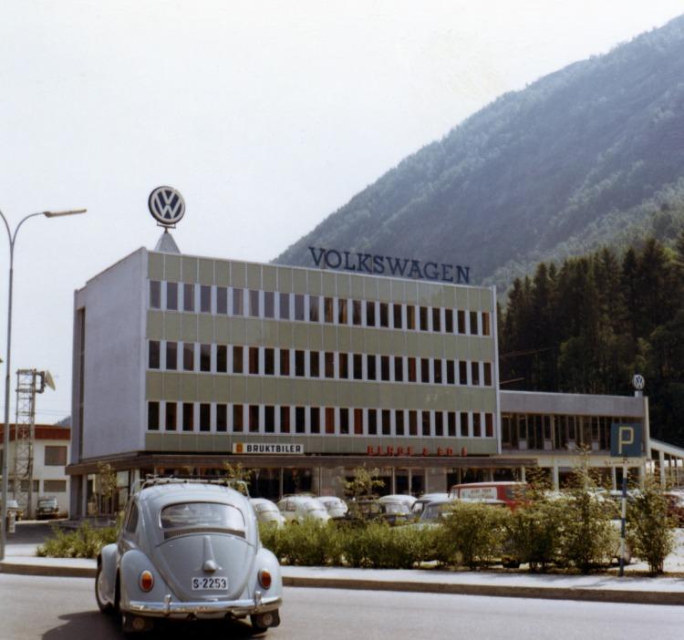 Berge og Co Førde ca 1965