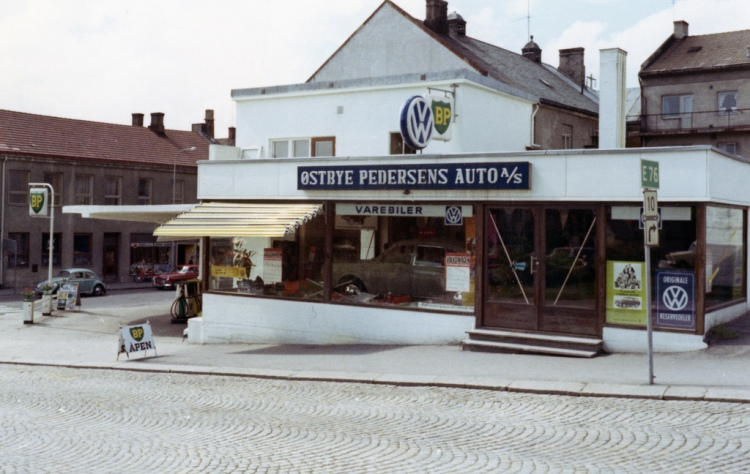 Østbye Pedersens Auto Notodden 1969