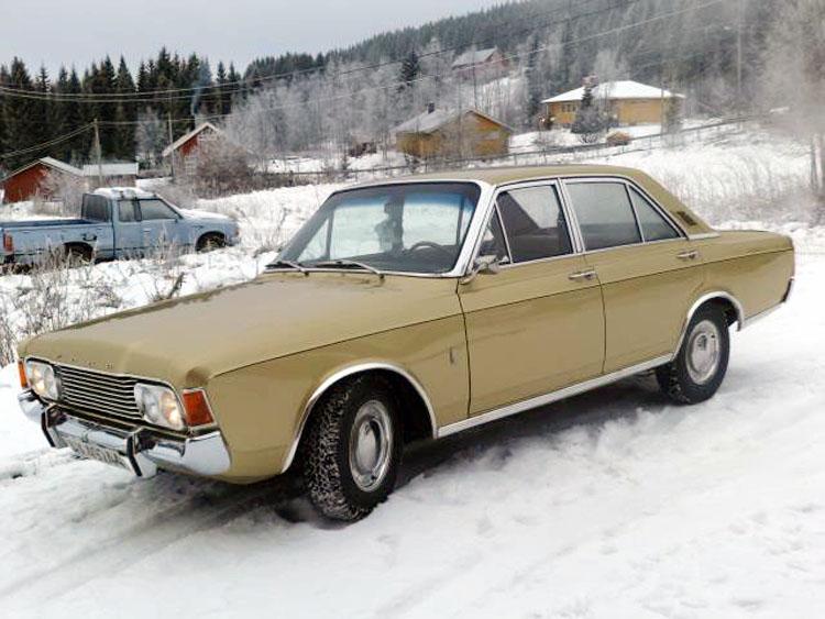 Ford Taunus P7 Ernst Bådstad