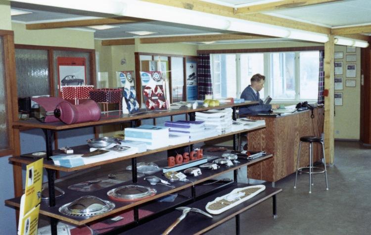 Gumpens Auto Kristiansand Deler 1969