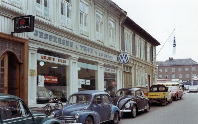Jespersen og Thon Bruktbiler Tønsberg 1969