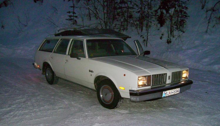 Olds Cutlass Cruiser 1979 Morten Sagstuen