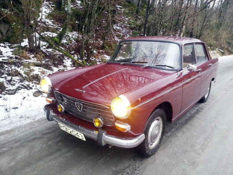 Peugeot 404 1971 Øyvind Flaat