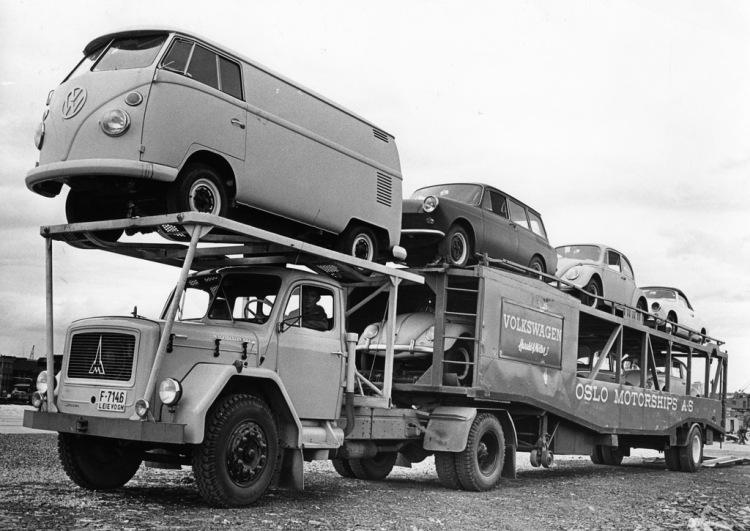 Volkswagen Biltransport Sorenga 1963