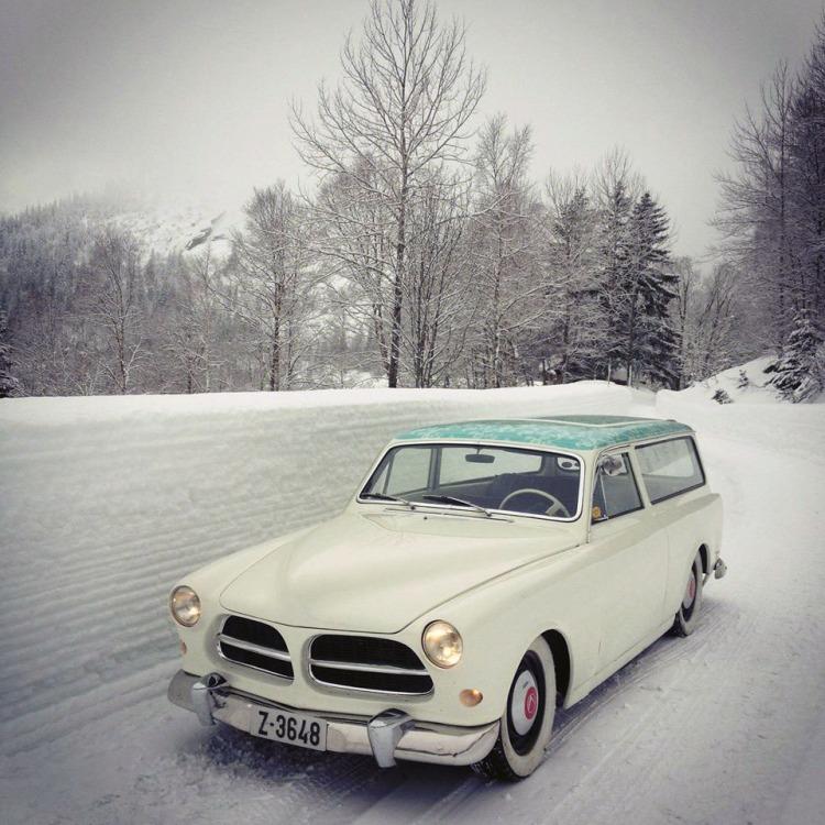 Volvo Amazon Herregård Olav Kvipt