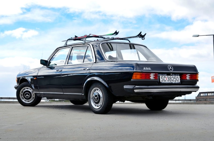 Påskerigga Mercedes
