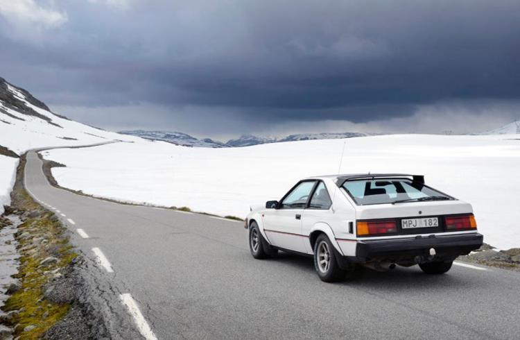 Toyota Celica Supra Aurlandsfjellet_2